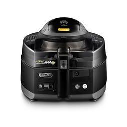 DeLonghi Multifry FH1163 Deep Fryer - 3.31 lb Food - Black,