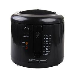 Beida BDZ2 1600 W Deep Fryer, Black and White