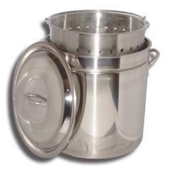 King Kooker Boiling Steamer Pot and Punched Basket