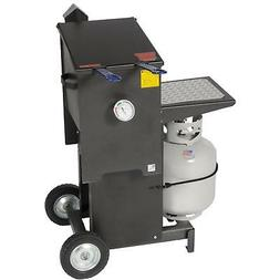 Cajun Fryer 6 Gallon Propane Gas Deep Fryer With Stand And 2