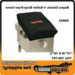 Bayou Classic Canvas Cover for 4 Gallon Deep Fryer 700-701 P