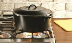 Cast Iron Dutch Oven With Iron Cover
