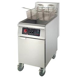 MyEasyShopping Caster Commercial Deep Fryers, Floor Model El