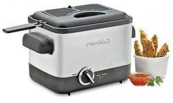 Cuisinart CDF-100 Compact 1.1-Liter Deep Fryer Cooker Brush
