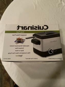 Cuisinart CDF-100 Compact 1.1-Liter Deep Fryer, Brushed Stai