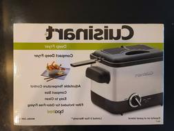 Cuisinart CDF-100 Deep Fryer, Brushed Stainless Steel