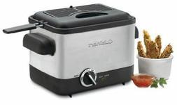 Cuisinart CDF-100C Compact Deep Fryer, SILVER/BLACK