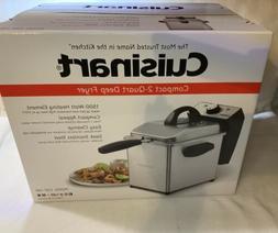 Cuisinart CDF-130 Mini Deep Fryer Brand New In Box