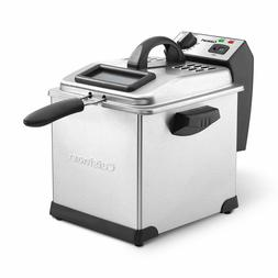 Cuisinart CDF-170 3.4-Quart Deep Fryer, Stainless Steel