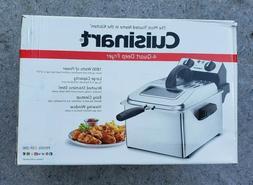 Cuisinart CDF-200 Deep Fryer 4 Quart Stainless Steel - Silve