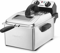 Cuisinart CDF-200P1 Deep Fryer, 4 Quart, Stainless Steel new