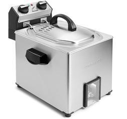 Cuisinart CDF-500 Extra-Large Rotisserie Deep Fryer, Silver,