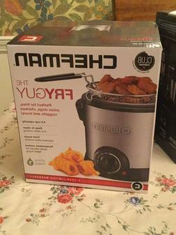 Chef man THE FRYGUY 4.2-Cup Mini Deep Fryer *NIB*