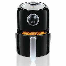 Chef's Kitchen Black 1.8L Electric Air Deep Fryer - Healthy