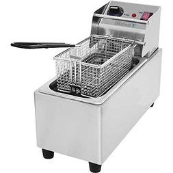 MyEasyShopping Commercial Countertop Deep Fryer, Single 8L,1