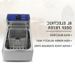 Commercial Deep Fryer Electric 8L Professional Frying Furnac