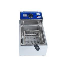 ixaer  Commercial Fryers, 8L Electric Countertop Deep Fryer
