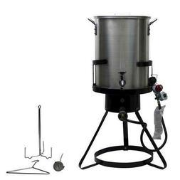 Commercial Grade Turkey Deep Fryer Large Pot Steamer Outdoor