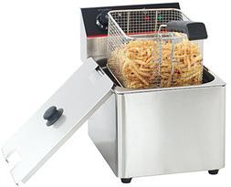 Hakka 8L Commercial Stainless Steel Deep Fryers Electric Pro