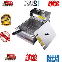 Commercial Yescom 2500W 6Lfc Electric Countertop Aliquam Ste