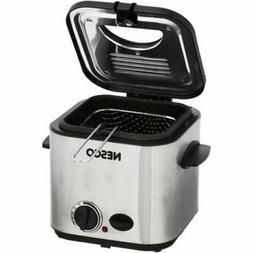 Compact 1.2L Electric Deep Fryer by Nesco Small Kitchen Appl