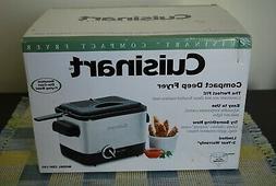 Cuisinart Compact Deep Fryer CDF-100 NIB
