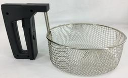 Presto Cool Daddy Fry Basket w/Handle ONLY Cool-Touch Deep F