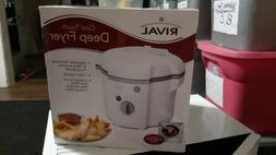 Rival Cool Touch Deep Fryer 1L Capacity CF106-W
