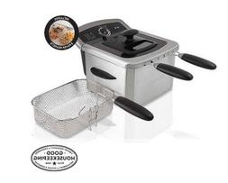 Farberware Counter-top Electric Deep Fryer with 2 Frying Bas