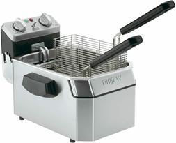 Countertop Electric Commercial Deep Fryer: 10 lb Capacity -