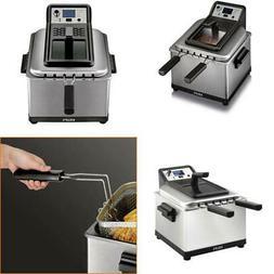 Krups Deep Fryer 1800-Watt Electric Programmable 3-Frying Ba