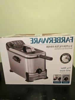 Deep Fryer - Farberware 3-Liter Filter Fryer, Stainless Stee