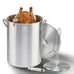 Deep Fryer 30 Qt. Aluminum Pot Kit Turkey Fryer Outdoor Prop