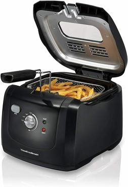 Electric Deep Fryer 8 Cup 2 Liter Oil Capacity Cool Touch Vi