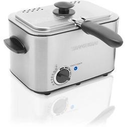 Farberware Deep Fryer Adjustable Thermostat Stainless Steel
