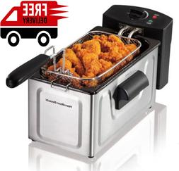 Deep Fryer Basket Electric Countertop Home Cooker Restaurant