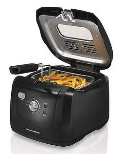 Hamilton Beach Deep Fryer Electric Cool Touch w Basket Kitch