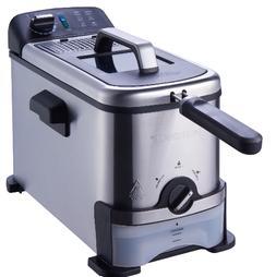 Deep Fryer - Farberware 3-Liter Filter Fryer, Stainless Stee