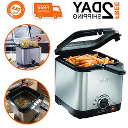 Deep Fryer For French Fries Chicken Compact Mini Electric Ho