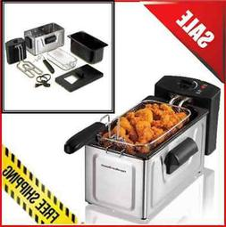 Hamilton Beach 2-Liter Professional Deep Fryer Kitchen Cook