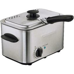 Deep Fryer Mini 1.1 Liter With Basket Small Kitchen Fryers A