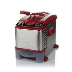 Wolfgang Puck Stainless Steel 3.5-Liter Digital Deep Fryer