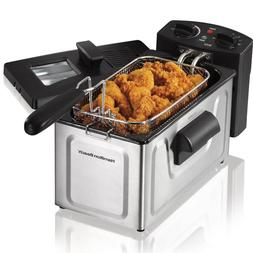 Deep Fryer Stainless Steel 8 Cup Fast Cooking Stainless Stee
