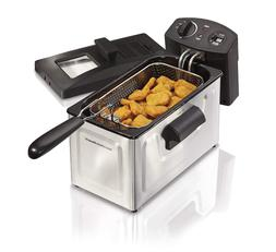 Deep Fryer, With Basket, 2.8 Liter Oil Capacity, Electric, P