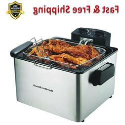 Deep Fryer With Basket 4.5 Liter Oil Capacity Electric Profe