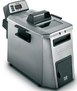 DeLonghi D24527DZ Deep Fryer, Dual Zone