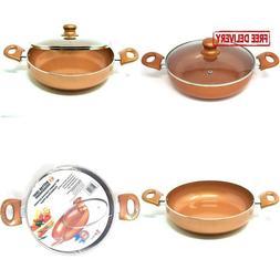 Better Chef Df-1004 10 In. Copper Colored Ceramic Coated Dee