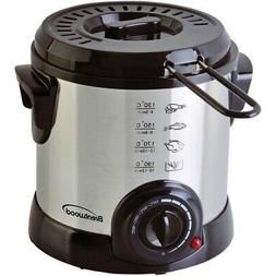Brentwood Appliances DF-701 1-Liter Stainless Steel Electric