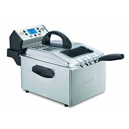 Pro DF280 Professional Deep Fryer, Brushed Stainless Steel w