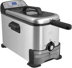 Kalorik Digital Deep Fryer with Oil Filtration 3-Liter Model